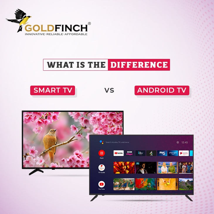 Smart TV and Android TV Difference